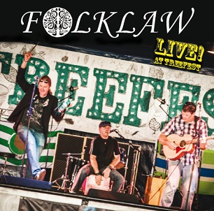 FolkLaw Live at TreeFest Album Cover